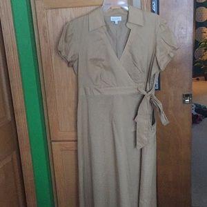 Tan dress!